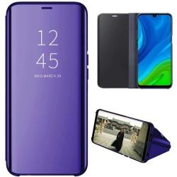 Funda Flip Cover Clear View para Huawei P Smart 2020 color Azul