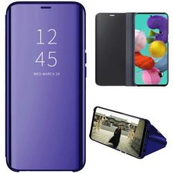 Funda Flip Cover Clear View para Samsung Galaxy A51 5G color Azul