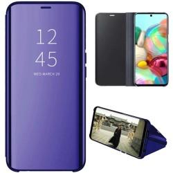Funda Flip Cover Clear View para Samsung Galaxy A71 5G color Azul
