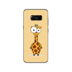 Funda Gel Tpu para Samsung Galaxy S8 Diseño Jirafa Dibujos