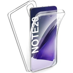 Funda Completa Transparente Pc + Tpu Full Body 360 para Samsung Galaxy Note 20