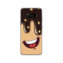 Funda Gel Tpu para Samsung Galaxy S8 Diseño Helado Chocolate Dibujos
