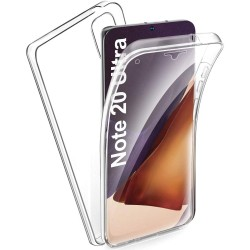 Funda Completa Transparente Pc + Tpu Full Body 360 para Samsung Galaxy Note 20 Ultra