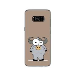 Funda Gel Tpu para Samsung Galaxy S8 Diseño Toro Dibujos