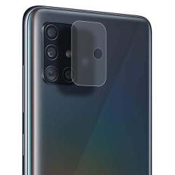 Protector Cristal Templado Cámara Trasera para Samsung Galaxy A51 Vidrio