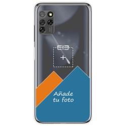 Personaliza tu Funda Gel Silicona Transparente con tu Fotografia para Elephone E10 / E10 Pro dibujo personalizada