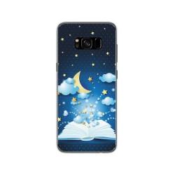Funda Gel Tpu para Samsung Galaxy S8 Diseño Libro Cuentos Dibujos