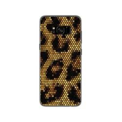 Funda Gel Tpu para Samsung Galaxy S8 Diseño Leopardo Dibujos
