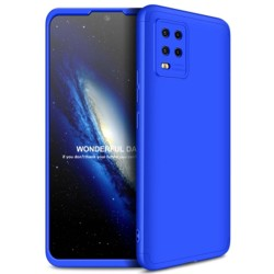Funda Carcasa GKK 360 para Xiaomi Mi 10 Lite color Azul