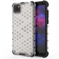 Funda Tipo Honeycomb Armor (Pc+Tpu) Transparente para Huawei Y5p