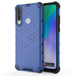 Funda Tipo Honeycomb Armor (Pc+Tpu) Azul para Huawei Y6p