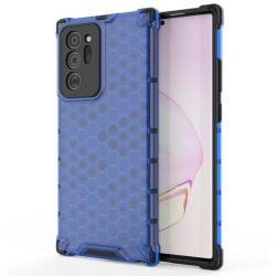 Funda Tipo Honeycomb Armor (Pc+Tpu) Azul para Samsung Galaxy Note 20