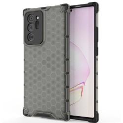 Funda Tipo Honeycomb Armor (Pc+Tpu) Negra para Samsung Galaxy Note 20
