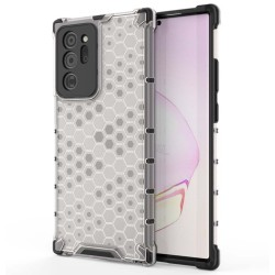 Funda Tipo Honeycomb Armor (Pc+Tpu) Transparente para Samsung Galaxy Note 20