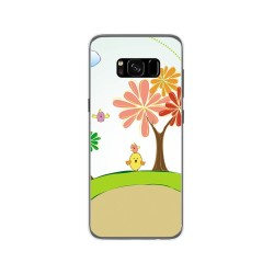 Funda Gel Tpu para Samsung Galaxy S8 Diseño Primavera Dibujos