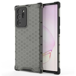 Funda Tipo Honeycomb Armor (Pc+Tpu) Negra para Samsung Galaxy Note 20 Ultra
