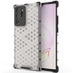 Funda Tipo Honeycomb Armor (Pc+Tpu) Transparente para Samsung Galaxy Note 20 Ultra