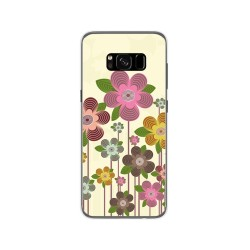 Funda Gel Tpu para Samsung Galaxy S8 Diseño Primavera En Flor Dibujos