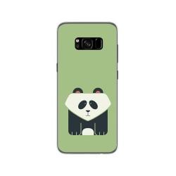 Funda Gel Tpu para Samsung Galaxy S8 Diseño Panda Dibujos