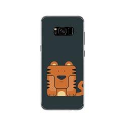 Funda Gel Tpu para Samsung Galaxy S8 Diseño Tigre Dibujos