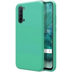 Funda Silicona Líquida Ultra Suave para Oppo Find X2 Lite color Verde