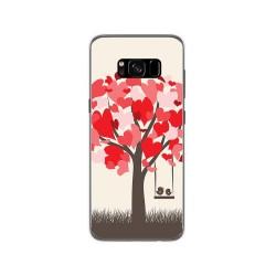 Funda Gel Tpu para Samsung Galaxy S8 Diseño Pajaritos Dibujos