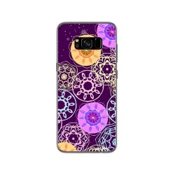 Funda Gel Tpu para Samsung Galaxy S8 Diseño Radial Dibujos