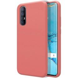 Funda Silicona Líquida Ultra Suave para Oppo Find X2 Neo color Rosa