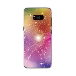 Funda Gel Tpu para Samsung Galaxy S8 Plus Diseño Abstracto Dibujos