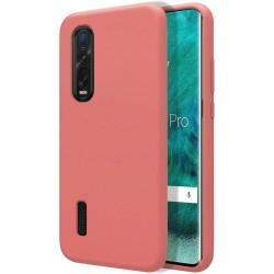 Funda Silicona Líquida Ultra Suave para Oppo Find X2 Pro color Rosa