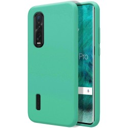 Funda Silicona Líquida Ultra Suave para Oppo Find X2 Pro color Verde