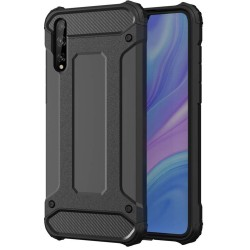 Funda Tipo Hybrid Tough Armor (Pc+Tpu) Negra para Huawei P Smart S / Y8p