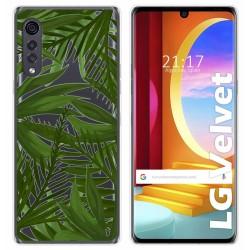 Funda Gel Transparente para LG Velvet 5G diseño Jungla Dibujos