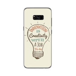Funda Gel Tpu para Samsung Galaxy S8 Plus Diseño Creativity Dibujos