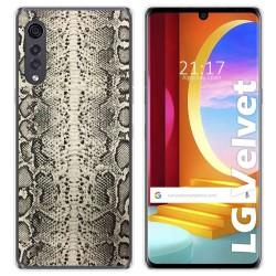 Funda Gel Tpu para LG Velvet 5G diseño Animal 01 Dibujos