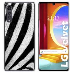 Funda Gel Tpu para LG Velvet 5G diseño Animal 02 Dibujos