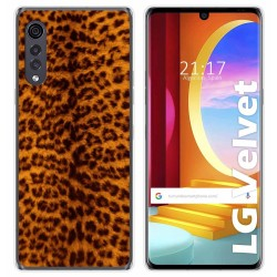 Funda Gel Tpu para LG Velvet 5G diseño Animal 03 Dibujos