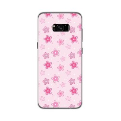 Funda Gel Tpu para Samsung Galaxy S8 Plus Diseño Flores Dibujos