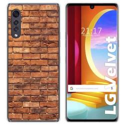 Funda Gel Tpu para LG Velvet 5G diseño Ladrillo 04 Dibujos