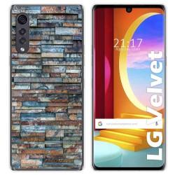 Funda Gel Tpu para LG Velvet 5G diseño Ladrillo 05 Dibujos