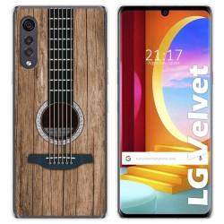 Funda Gel Tpu para LG Velvet 5G diseño Madera 11 Dibujos