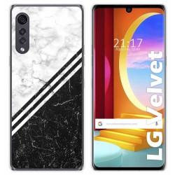 Funda Gel Tpu para LG Velvet 5G diseño Mármol 01 Dibujos