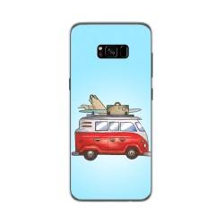 Funda Gel Tpu para Samsung Galaxy S8 Plus Diseño Furgoneta Dibujos