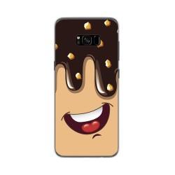 Funda Gel Tpu para Samsung Galaxy S8 Plus Diseño Helado Chocolate Dibujos