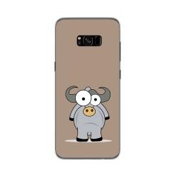Funda Gel Tpu para Samsung Galaxy S8 Plus Diseño Toro Dibujos