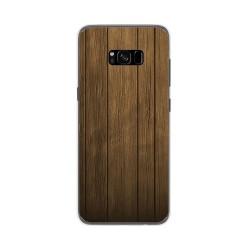 Funda Gel Tpu para Samsung Galaxy S8 Plus Diseño Madera Dibujos