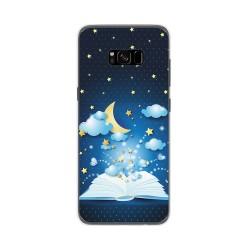 Funda Gel Tpu para Samsung Galaxy S8 Plus Diseño Libro Cuentos Dibujos