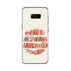 Funda Gel Tpu para Samsung Galaxy S8 Plus Diseño Mundo Libro Dibujos