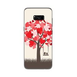 Funda Gel Tpu para Samsung Galaxy S8 Plus Diseño Pajaritos Dibujos