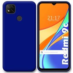Funda Silicona Gel TPU Azul para Xiaomi Redmi 9C